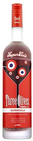 Three Olives Vodka Supercola